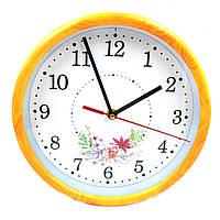 Часы №XS66182 настен. пл. круг.1цв. 4рис (23*23*4см) в кор.