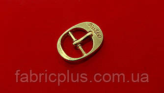Пряжка металлическая 14 мм золото