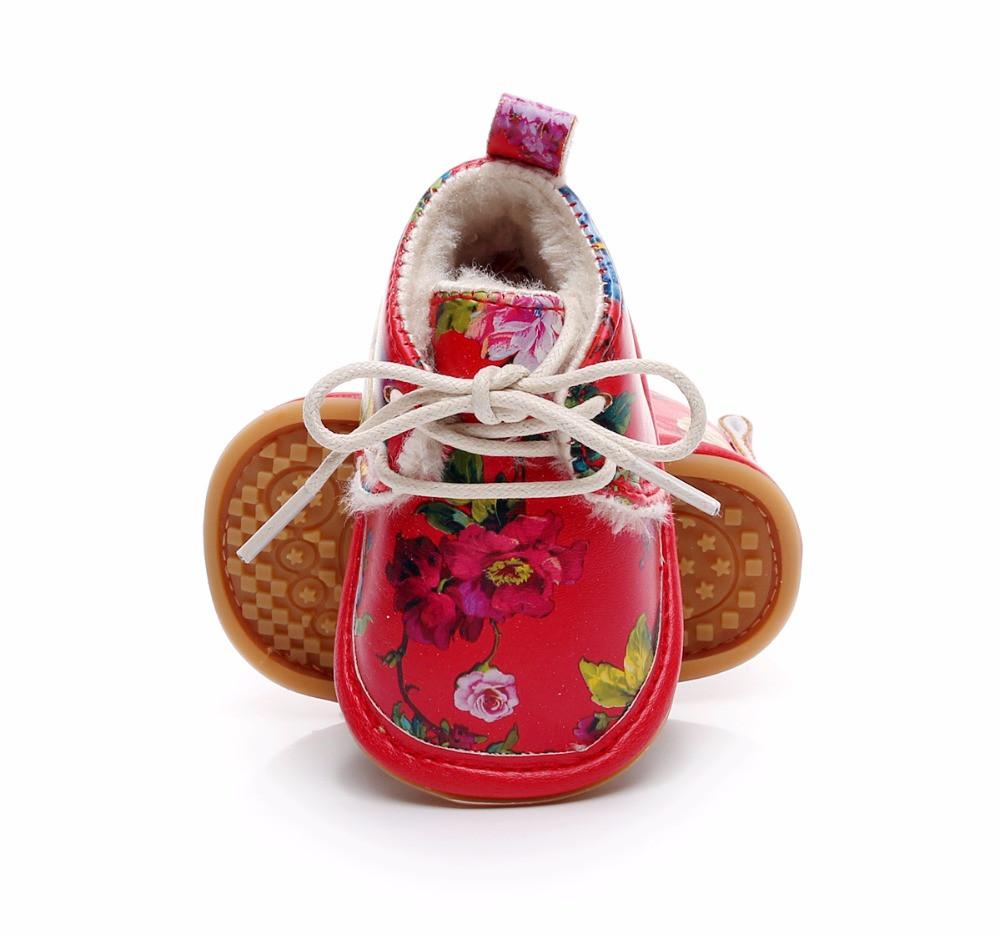 Теплые ботинки для девочки 14 см