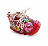 Теплые ботинки для девочки 14 см, фото 5