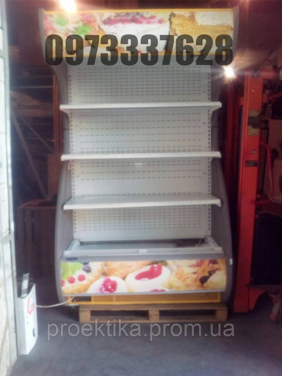 Регал холодильный б/у