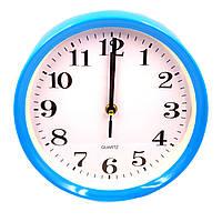 Часы №G301 настен. пл. круг.4цв (23*23*4см ) в кор.