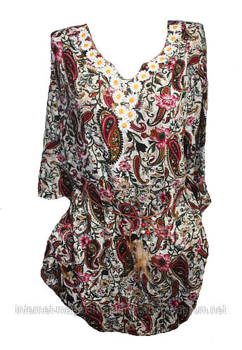 Женская блуза полубатал