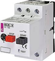Автоматический выключатель защиты двигателя  MS25-16 ETI