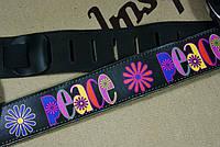Ремень для гитары Perri's кожаный с рисунком, фото 1