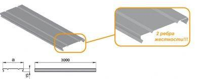Крышка лотка СКаТ Light 300 мм
