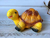 Садовая фигура: жёлтая черепашка