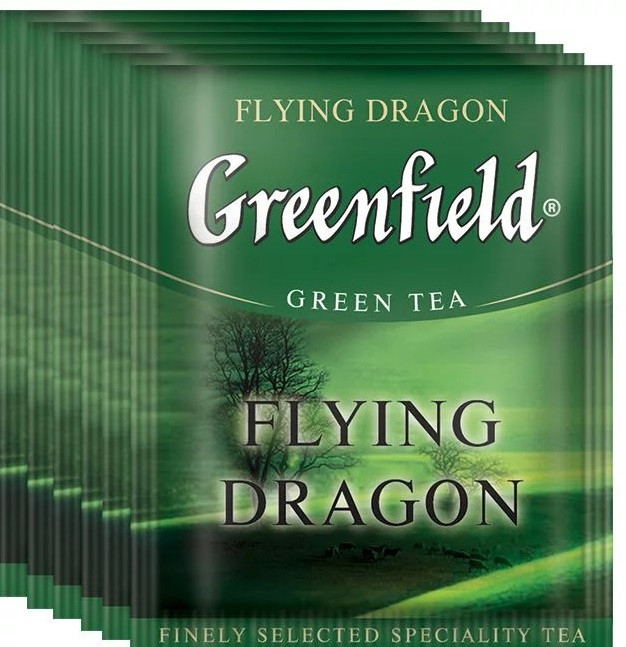 Чай зеленый Greenfield Flying Dragon 100 пак. м/у HoReCa