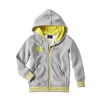 Детская кофта с капюшоном Mercedes-Benz Kids Sweat Jacket Grey
