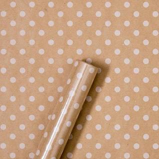 Папір пакувальна (тишею, крафт, з малюнком)