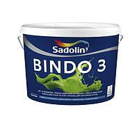Sadolin BINDO 3 BW Белый 5 л глубокоматовая краска для потолков