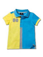 Детская футболка-поло Mercedes-Benz Boys' T-Shirt Striped Collar