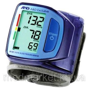 Тонометр на запястье A&D Medical UB-501 - Medmarket в Харькове
