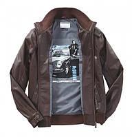 Мужская кожаная куртка Porsche Men's Leather Jacket Steve McQueen Brown
