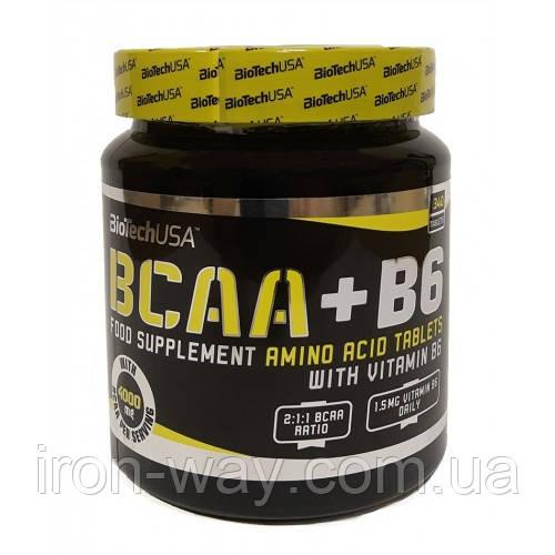 BioTech BCAA+B6 - 340 tabl