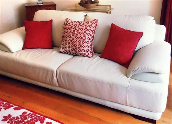 Обновляем интерьер с помощью текстиля. Купить ткань для диванных подушек