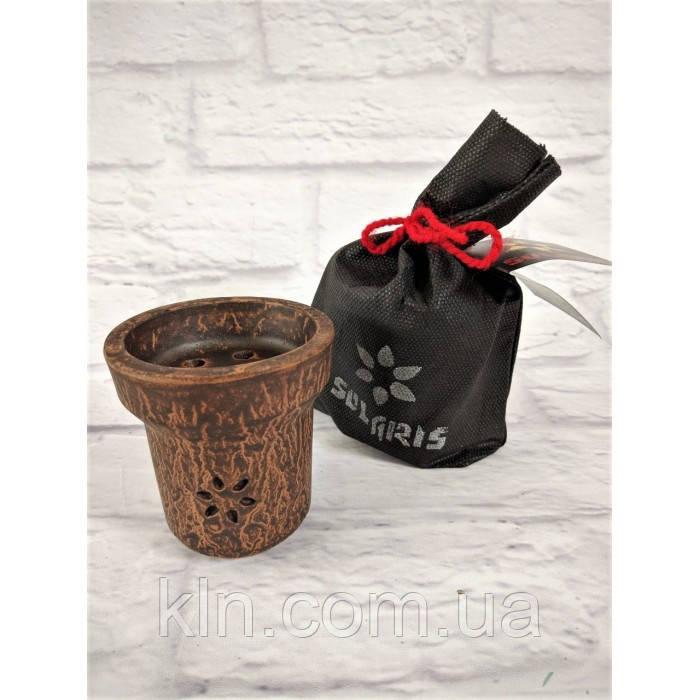 Глиняная чаша для кальяна Солярис Solaris Mercury (оригинал)