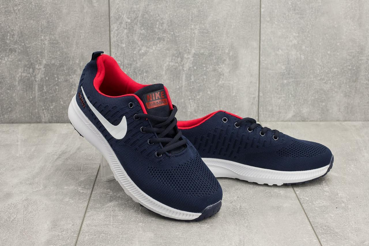 71c9e508 Кроссовки (Nike AirMax ) (весна/осень, мужские, текстиль, синий ...