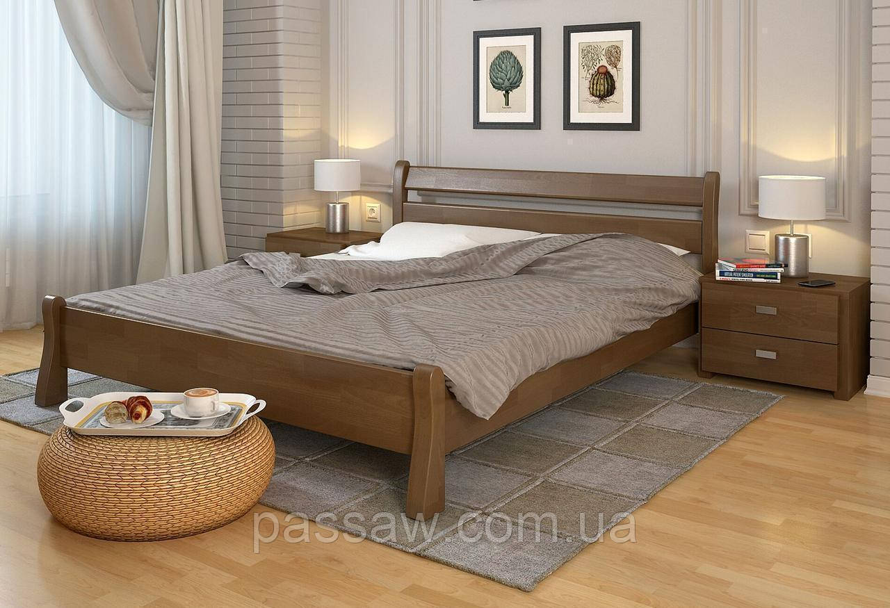 """Кровать деревянная ARBOR DREV  """"Венеция"""" 1,8 сосна"""