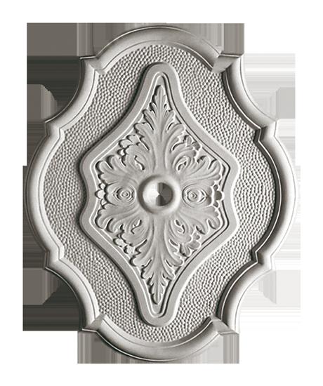 Розетка потолочная из гипса р-27  560х450