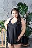 Купальник с шортиками для пышных женщин, с 48-98 размер