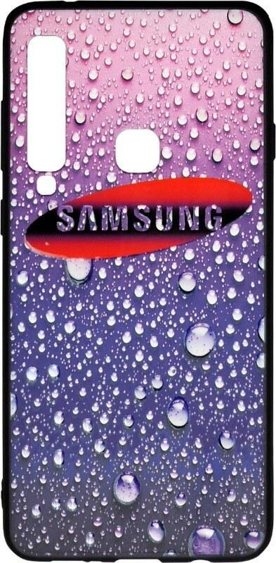 Чехол-накладка для Samsung A920 3D Rain Violet