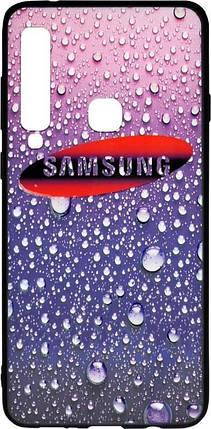 Чехол-накладка для Samsung A920 3D Rain Violet, фото 2