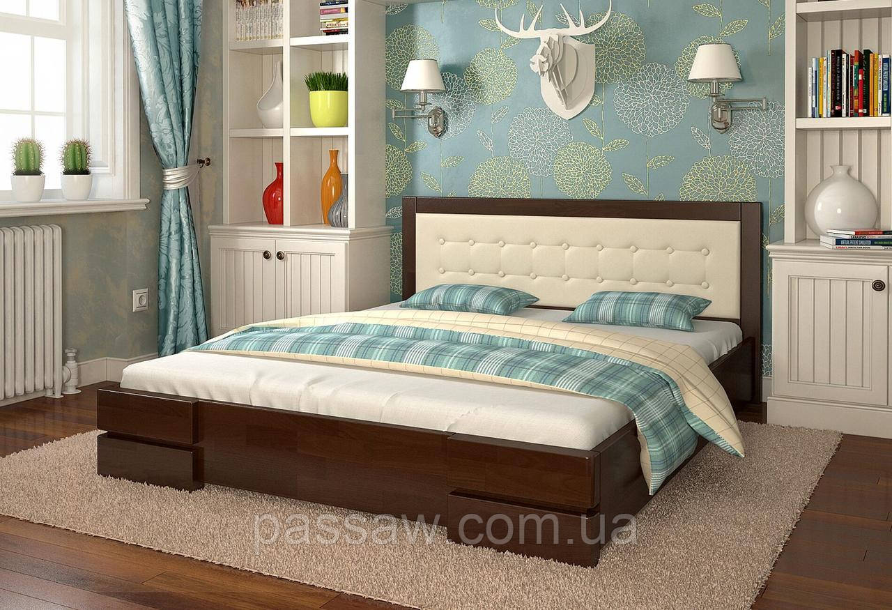 """Кровать деревянная ARBOR DREV  """"Регина"""" 1,2 бук"""