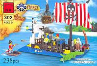 Конструктор Brick Пиратский остров 302