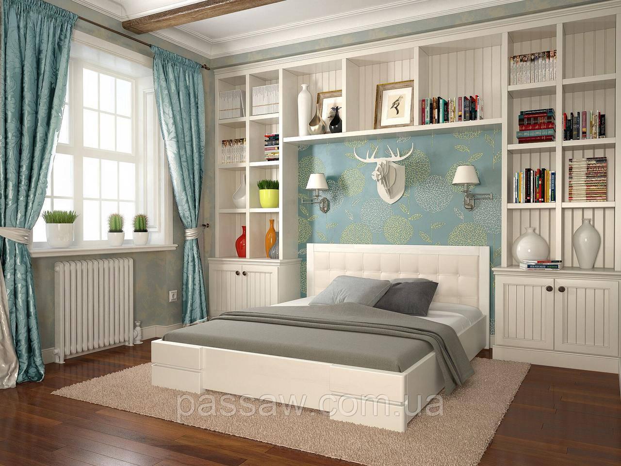 """Кровать деревянная ARBOR DREV  """"Регина"""" 1,4 сосна"""