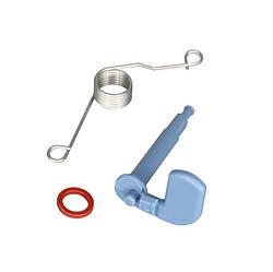 Рычаг диспенсера + пружина + прокладка для посудомоечной машины Bosch 166630