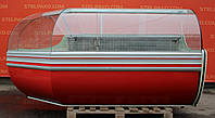 Холодильная витрина охлаждаемая «Cold» 2.5 м. (Польша), Широкая выкладка 73 см., Б/у, фото 1