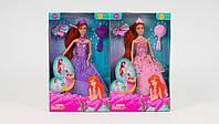 Кукла DEFA - принцесса русалочка с аксессуарами. 2 цвета