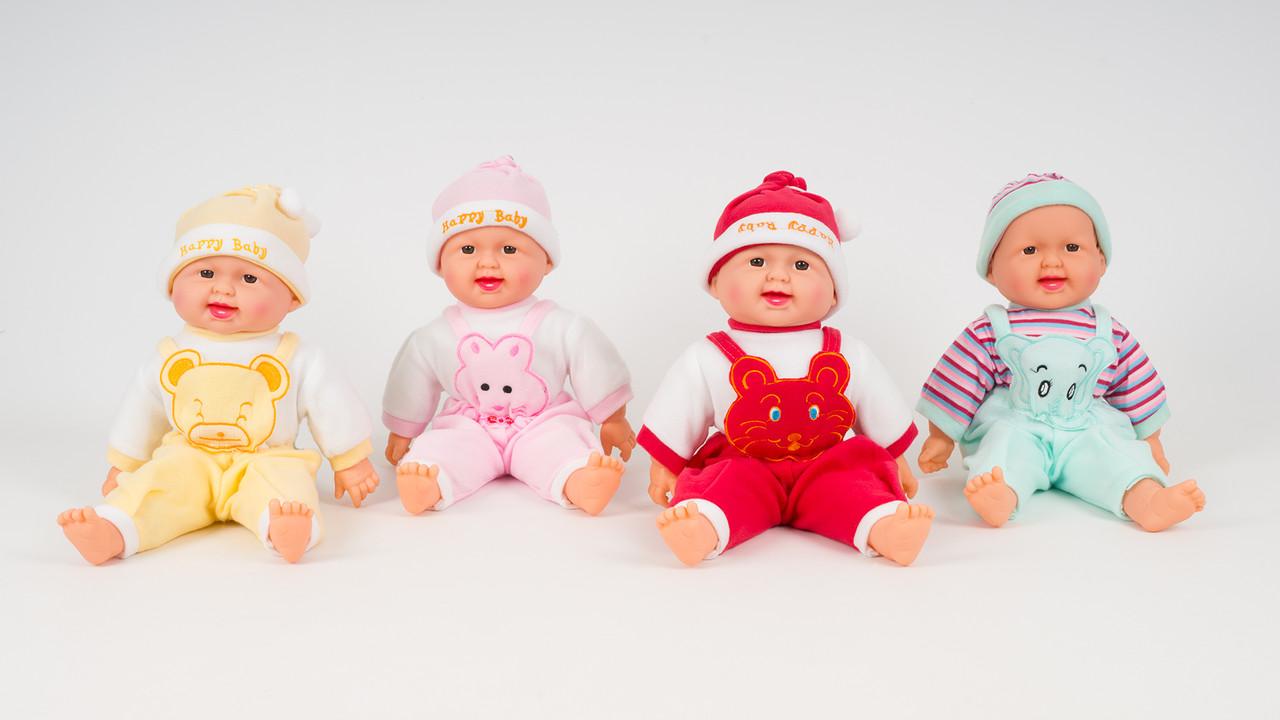 Лялька-реготун. 4 кольори