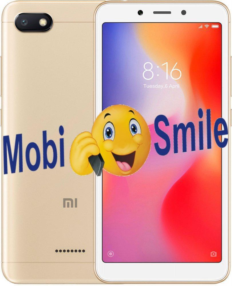 Смартфон Xiaomi Redmi 6A 2/16Gb Gold Глобальная Прошивка Гарантия 3 месяца / 12 месяцев