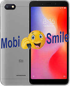 Смартфон Xiaomi Redmi 6A 2/16Gb Gray Глобальная Прошивка Гарантия 3 месяца