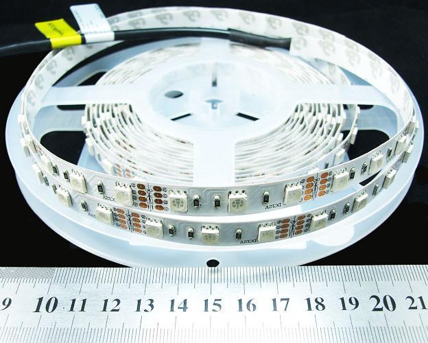 Cвітлодіодна стрічка RGB 5050-60-IP33-RGB-10-24 RN0060AP 14.4Вт 24 вольт Рішанг 8962