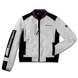 Жіноча куртка BMW M Motorsport Jacket (Colour Block Design, Ladies, White / Black)