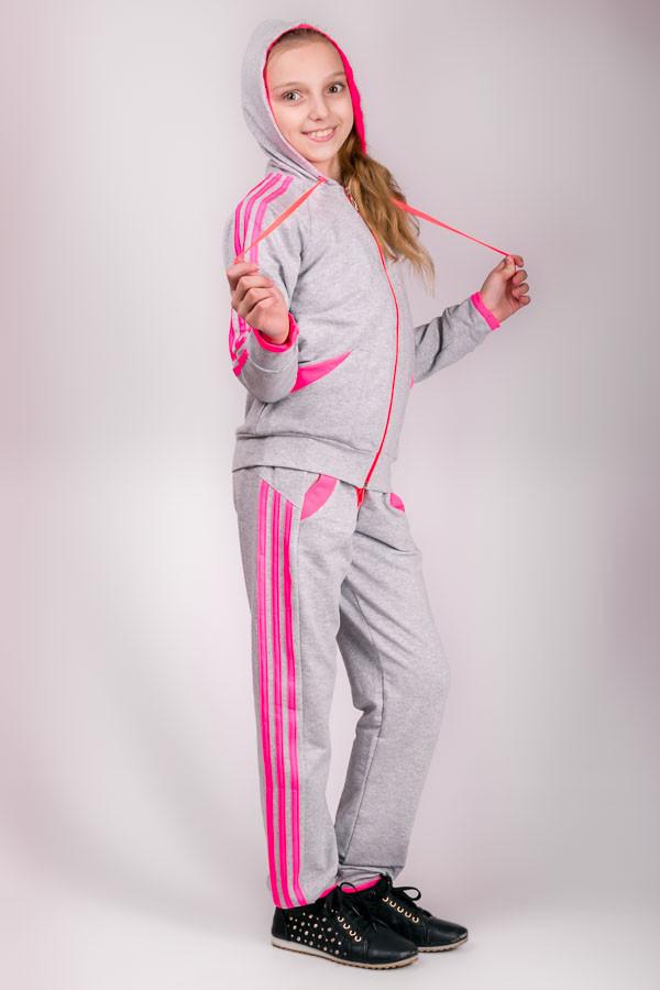 Детский спортивный костюм для девочки Лампас