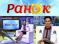 """Ведуча """"5 канал"""" Яніна Соколова, в сукні від """"Дизайн-студії Оксани Полонець"""""""