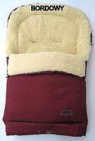 Конверт, спальный мешок для детей на овчине Multi Arctic № 20 (standart) WOMAR бордовый