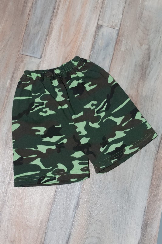 Детские шорты камуфляж