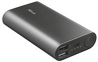 Портативное зарядное устройство Trust Luco Metal Powerbank 7500