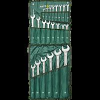 Набор ключей комбинированных на полотне 22 шт Автотехника 101220-Р