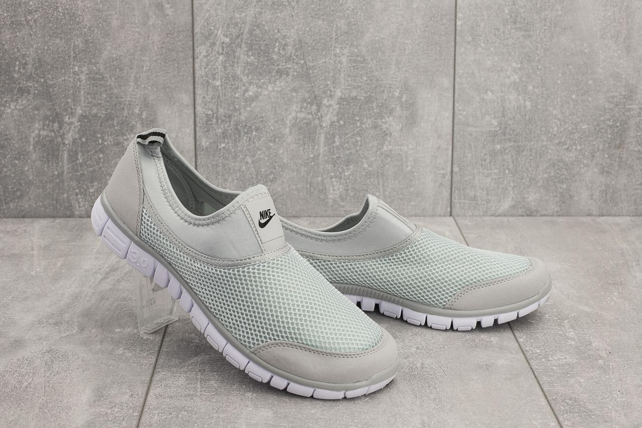 ade7cf81 Кроссовки Nike Free Run 3.0 (весна/осень, мужские, текстиль, серый ...
