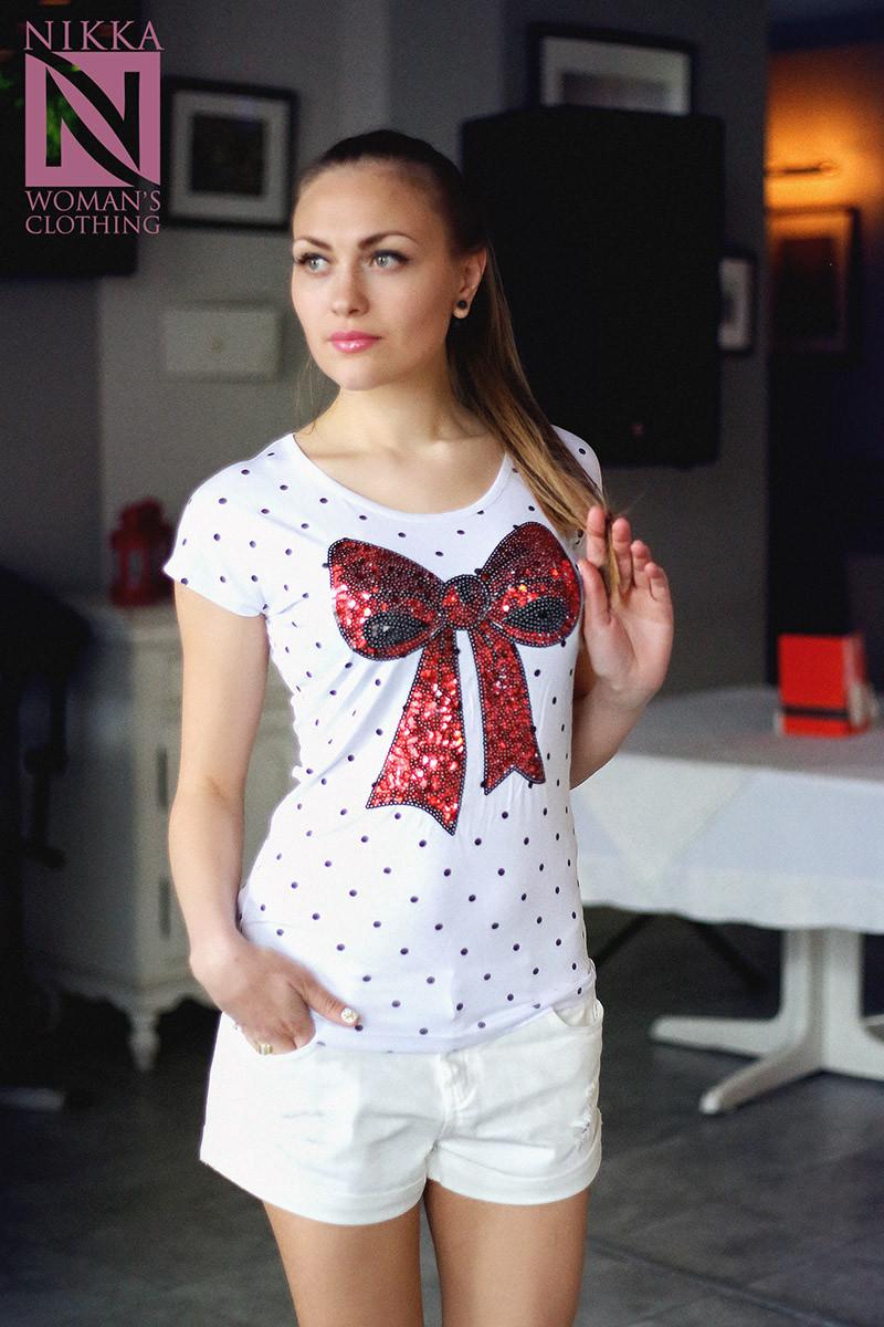 Женская футболка №19-09