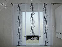 Занавески на кухню, тюль, шторы яп-49