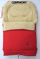Конверт, спальный мешок для детей на овчине Multi Arctic № 20 (standart) WOMAR красный
