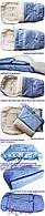 Конверт, спальный мешок для детей на овчине Multi Arctic № 20 (standart) WOMAR