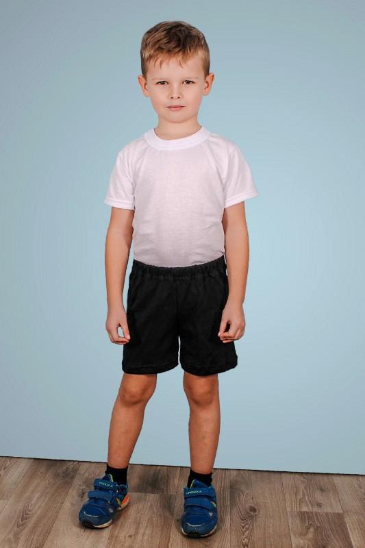 Детские чорные шорты